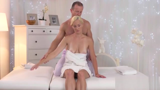Blonde babe Nela Angel with nice tits rides massage dude bound and fucked chair porn blonde bound anal sweet boobs blonde tied to chair