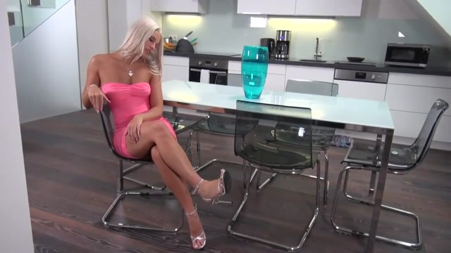 Blanche Bradburry - Sexy In Pink My date let me spank her