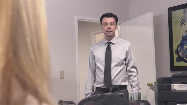 Hunk Drilling Titty Milf Boss In Stockings