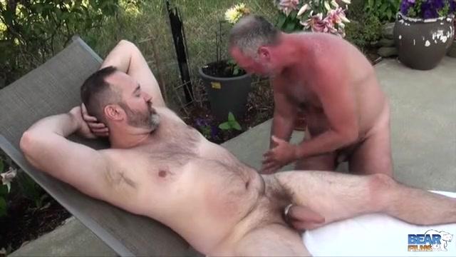 Joe Hardness and Bo Francis - BearFilms Naughty Couple Wild Fucking on Webcam