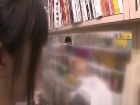 Japanese lesbian in library black big dick porno