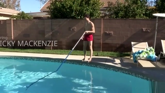 Young pool boy serves daddys dick Advantages of hookup a sugar daddy
