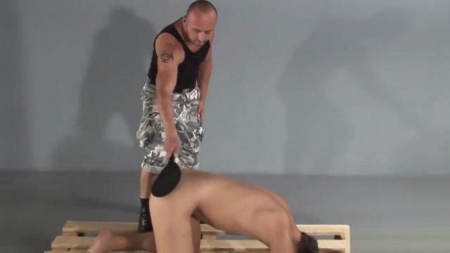 Punishment boy 2 Brit mature strapon lez