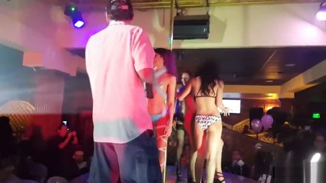 Aja ChaChanhsy WINS Bikini contest at AMP Shine Tits Heels