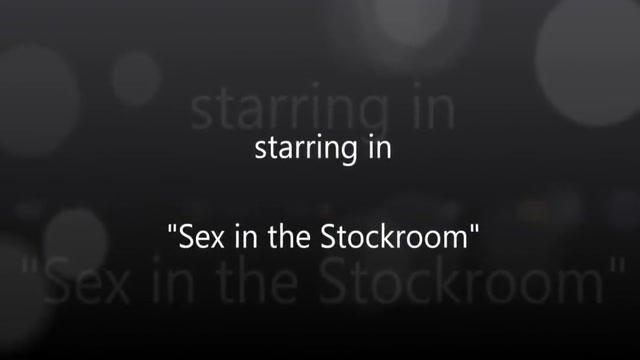 Sex inn the Stockroom. Couples looking for 3rd person uk
