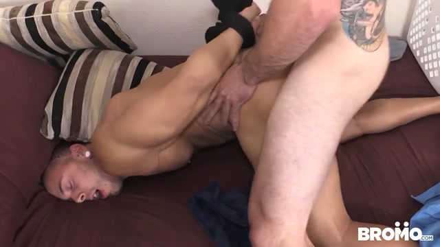 The Intruder Part #4, Scene 1 - BROMO Small mature anal