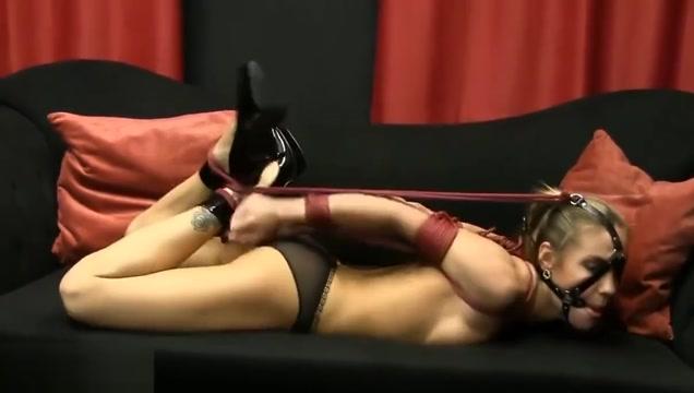 Rope bondage Girl kissing sexy