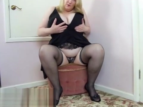 Vintage Mature Sally in a black lace corset Hot hermaphrodites porn gifs