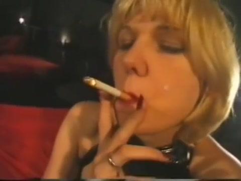 Smoking FemDom Whore German Big tits blowjob cam