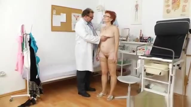 Madam gyno in addition to a redhead bitch Student Fuck Porn
