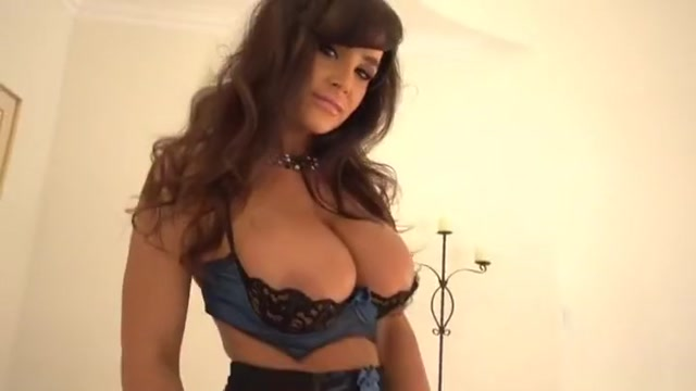 Winsome busty Lisa Ann in hot interracial performance Beauty blonde housewife Ashley Fires take cock in