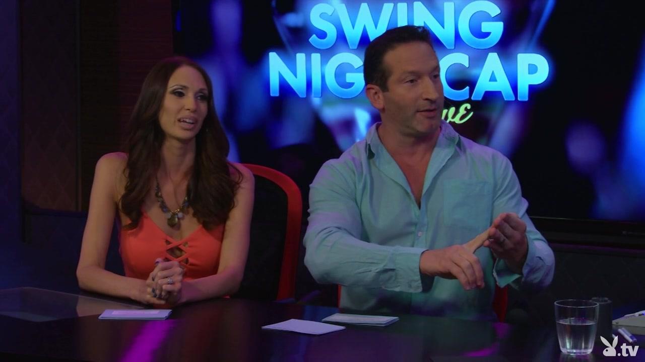 SWING NIGHTCAP LIVE, Season #1, Ep. 5 Real aussie tongues vag