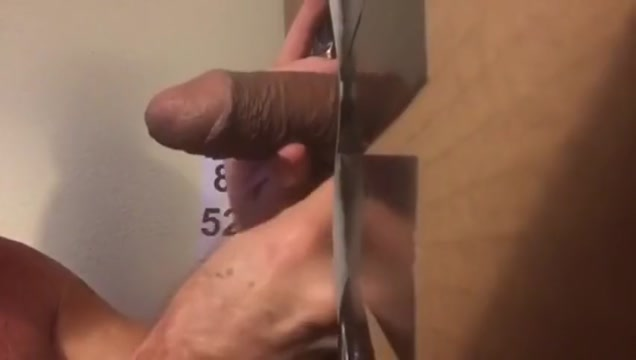 Super Thick Mixed Dick 1st Time at Philadelphia Glory Hole InTheVip Grinding time