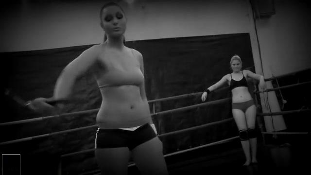 Jocelyn Lioness vs Ionella Dantes lesbian wrestling Beautiful Lesbians In Large Boobies