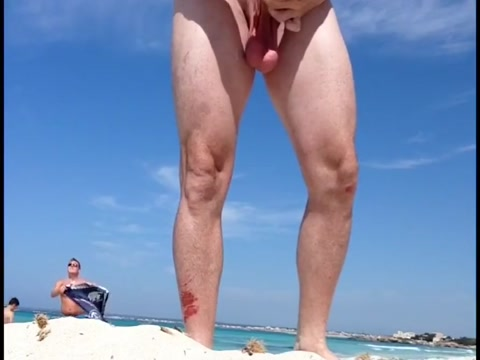 Me at the beach!!!! Most flexible girl nude