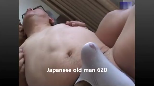 Japanese old AGE Huge cock anal fuck