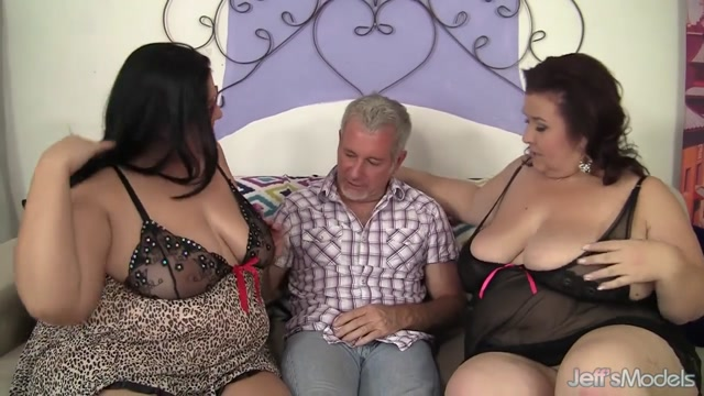 Sensational Plumper Threesome with Mature Lady Lynn and Hot Becki Butterfly Strong gangbang to please nasty??Ryo Kaede?