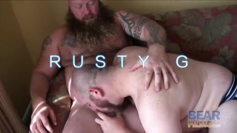 Rusty G, Gunner Scott and Sid Morgan - BearFilms Farside comic strip with functional families