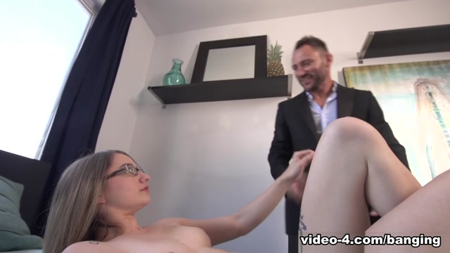 Hanna Paige & Rico in My Stepdad Has a Huge Cock - BangingFamily Perverted mature whore gangbang