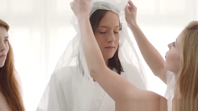 Lesbian Mormon Threesome Nasty emo girl fucks and masturbates
