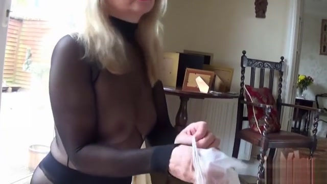 Encased Blonde Oiled Handjob In panties hungerford motors dick lovett