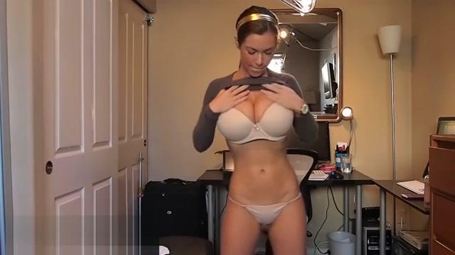 Huge Bouncing Tits 3 - Brown Sweater 3