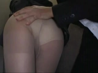 Shocked Officelady groped in Elevator Sextape facial