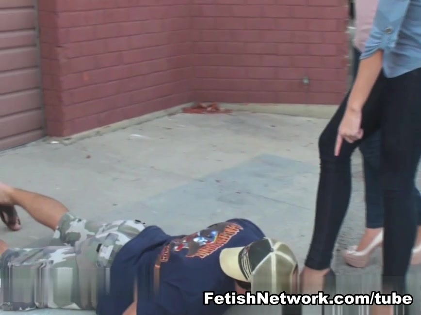Homeless guy takes on humiliation for cash Chubby checker huckle buck
