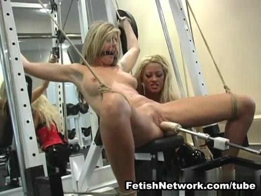 Lesbian Femdom Workout at the Gym best brunette sex stories