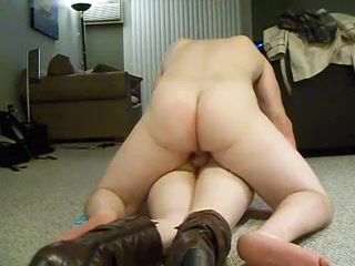 Slim sub anally pounded