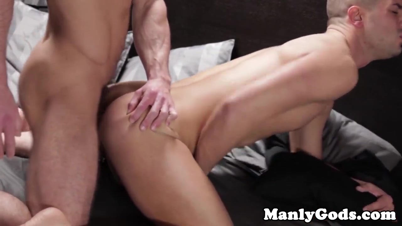 Muscled hunk doggystyle assfucks tattooed bloke Real lesbian amateurs exercising