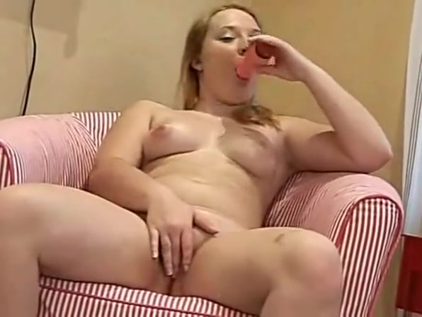 Chubby RedHead Ex Girlfriend playing with pink Vibrator Slut Sex in Sharbaqty