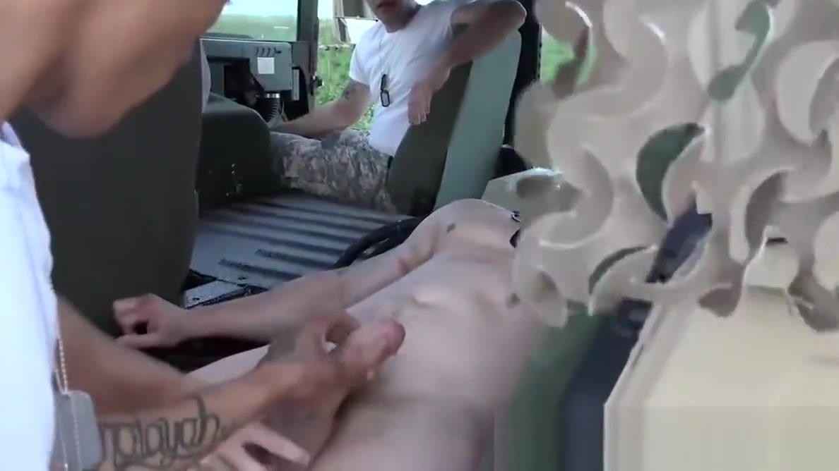 Hot army hunks fucking outdoor on a army truck with passion breath control mask hot carmen latex rubber fetish porn tube video