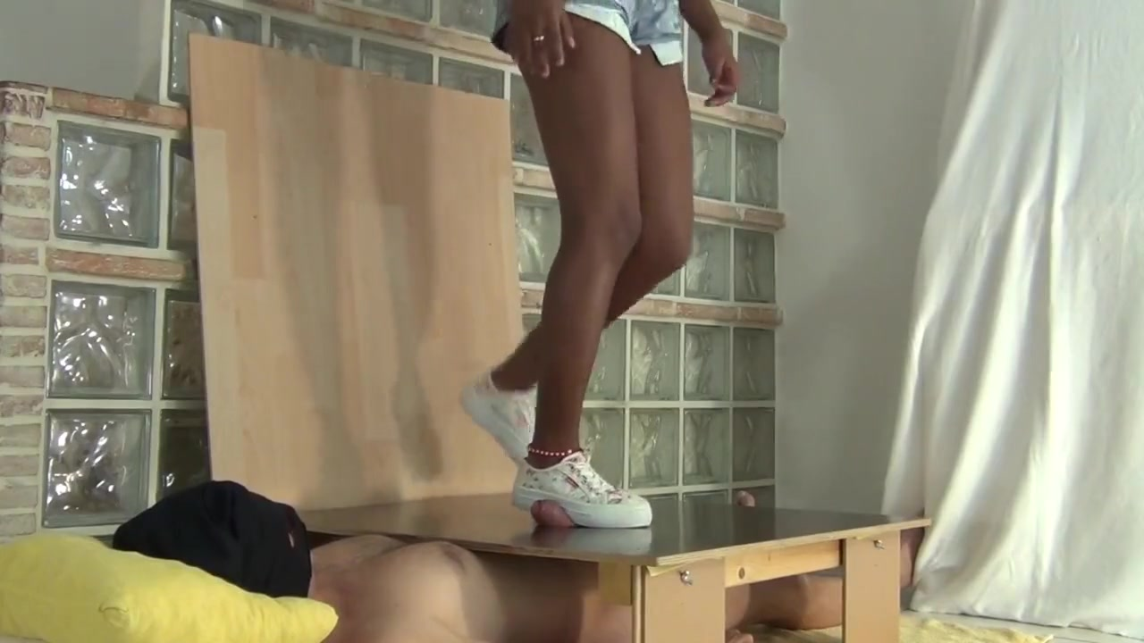 sneaker cock crush psp anal for free
