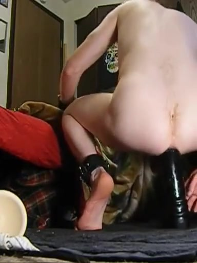 a redhead and his really big dildo Talk to a milf