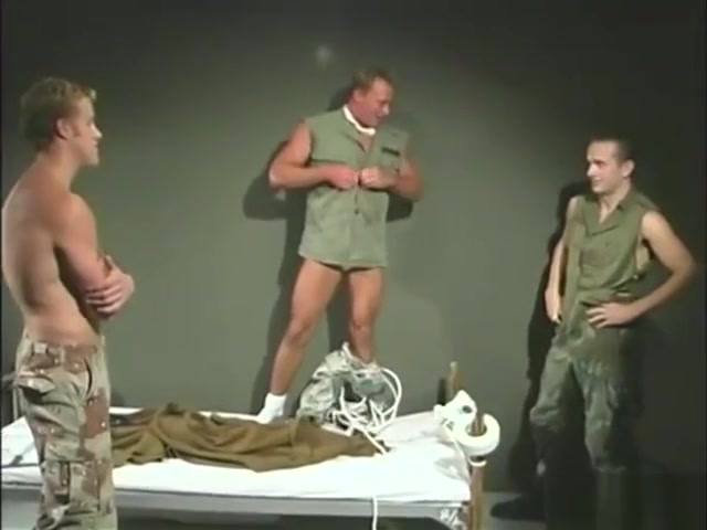 Handsome young soldiers bound and gagged. nude rus women video
