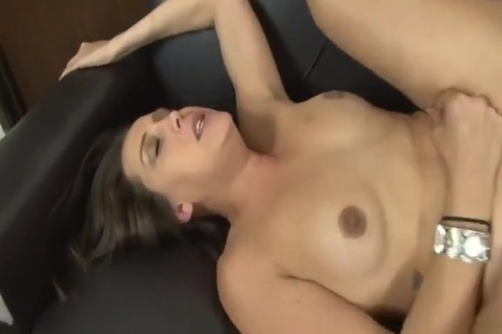 Hot Girl With Long Dark Hair Fucks On Leather Couch Fetish porn channels