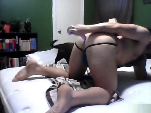 Bear take dildo on cam Bend over selfes naked