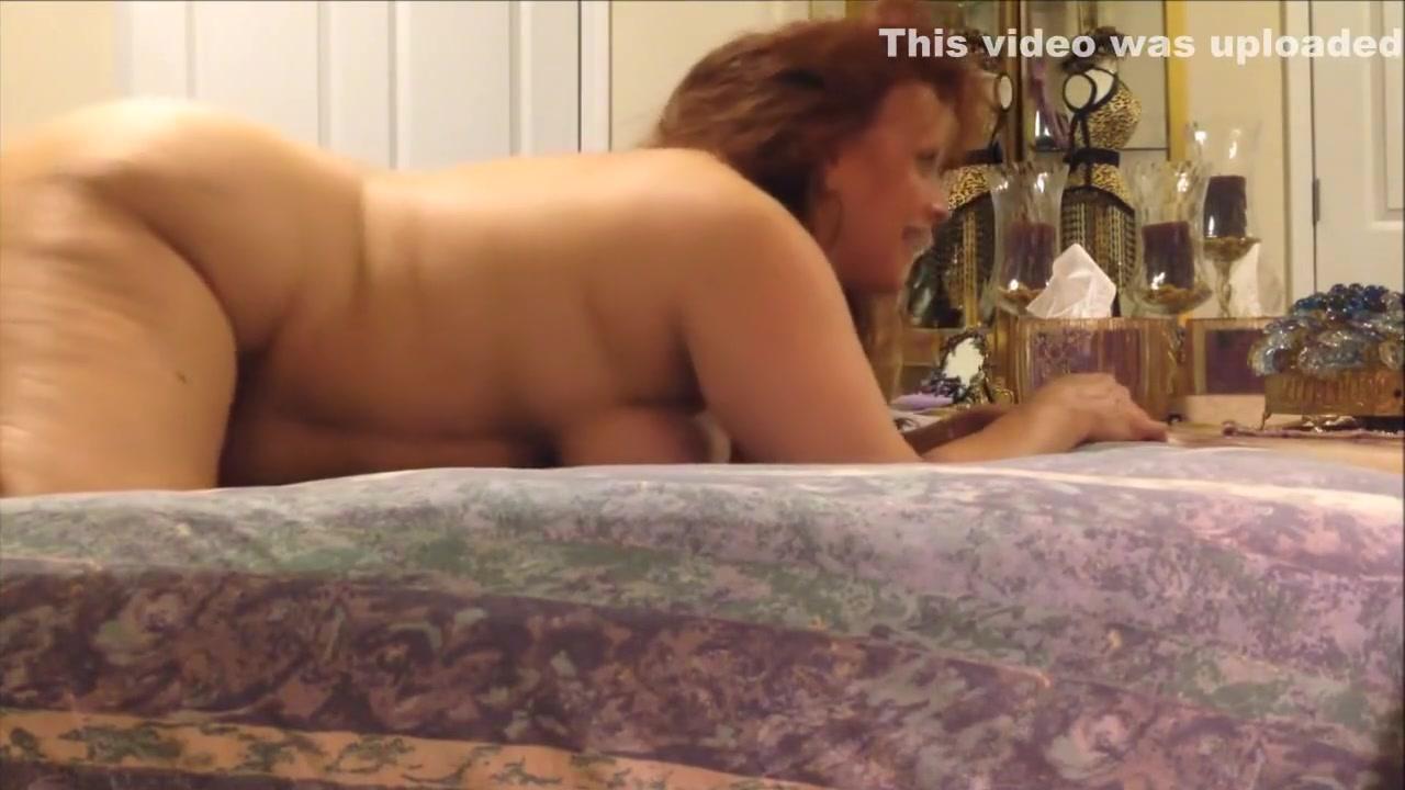 Chunky Cougar with big boobs Fucked Esmeralda Debbie White Oil Masage