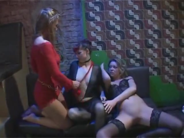 Pantyhose- Nylon Dolls Massive cougar tits