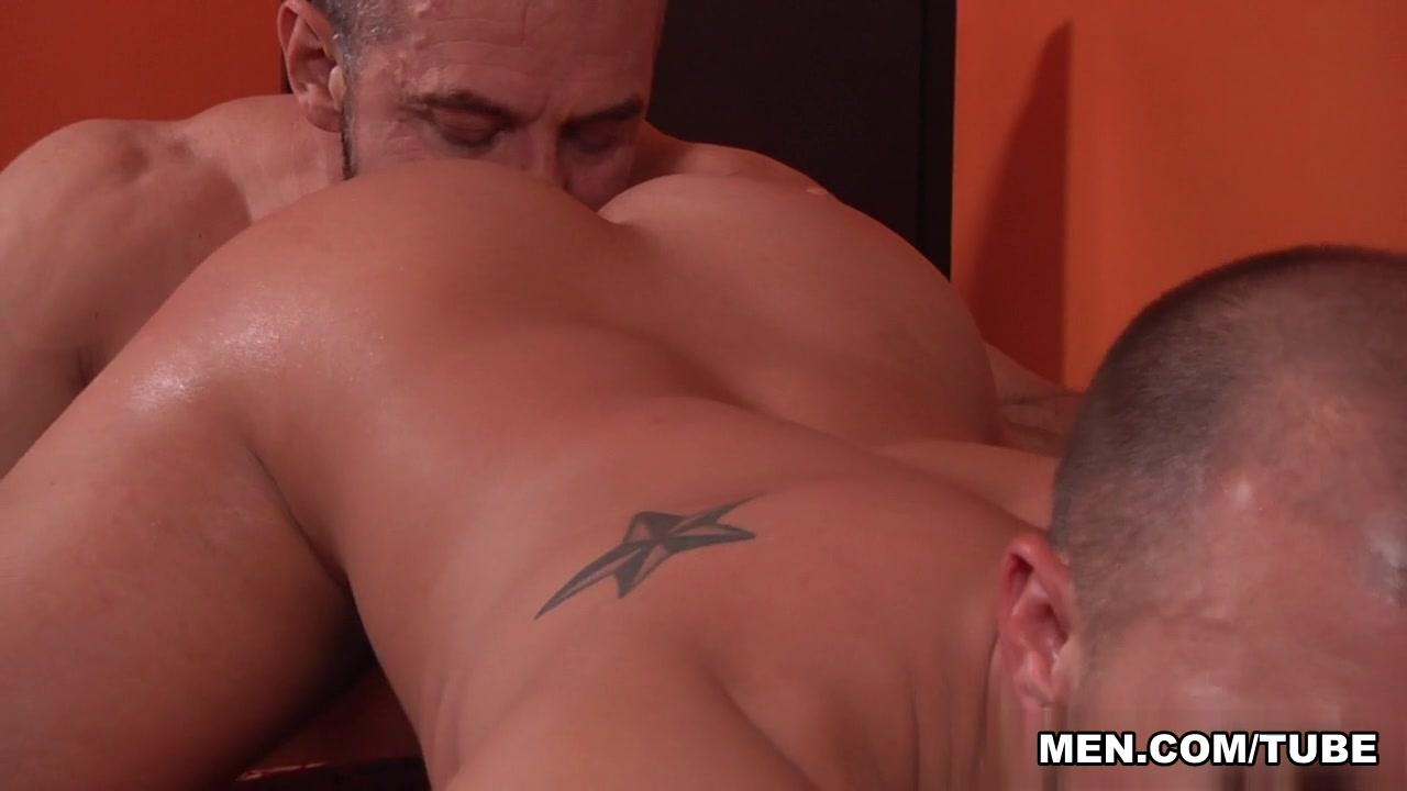 Eli Hunter & Max Sargent in The Straight Man Part 3 Scene Three guys fucking blonde