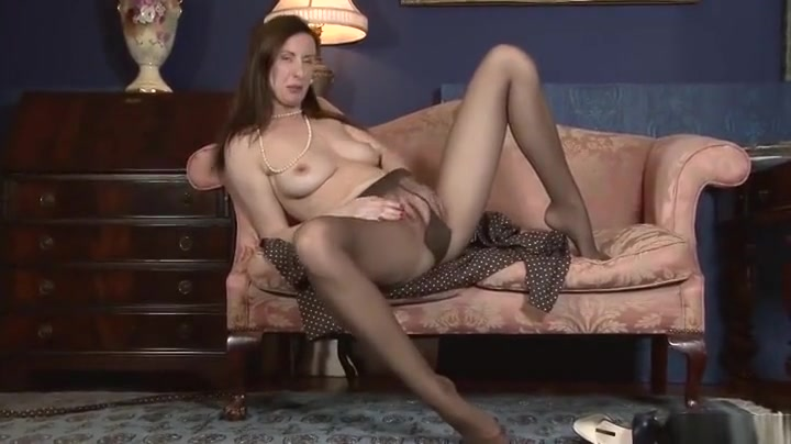 Awesome Lara Latex performing in incredible masturantion I fucked a midget cunt