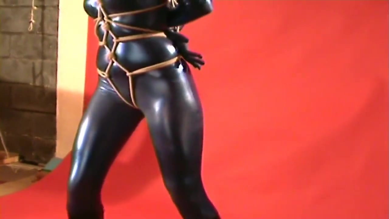bleu catsuit and ball gagged Whores in Guanare