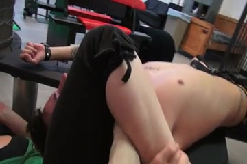 Amazing strong girl tortures her slave in the gym Sania Mirza Bf Video