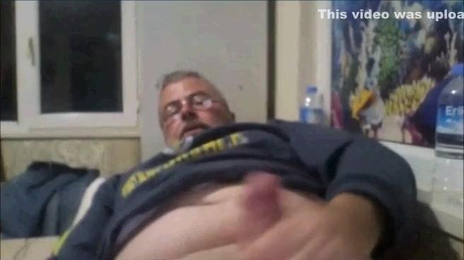 Grandpa wanking webcam can straight men enjoy anal sex