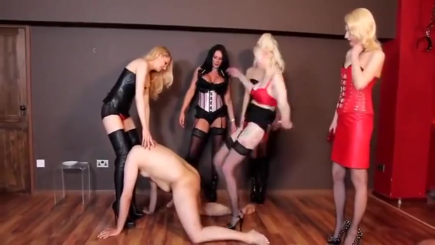 Five mistress ballbusting black and chinese porn