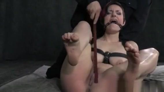 Tied Up Bondage Bdsm Subs Clit Paddled Rough Ultimate fetish bondage harness