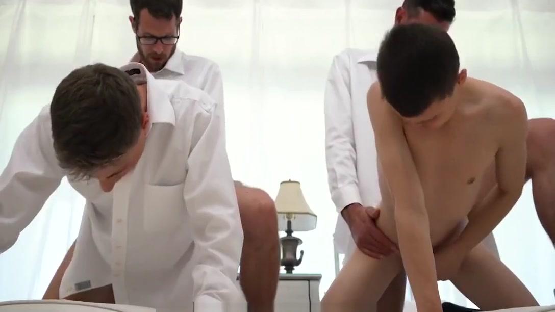mormonboyz - Handsome cult leader fucks quiet submissive boy Watch porn online in hd