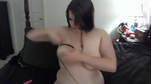 Horny Fat BBW Teen Ex GF masturbating wet shaven pussy Health breast massage oriental enhance tissue