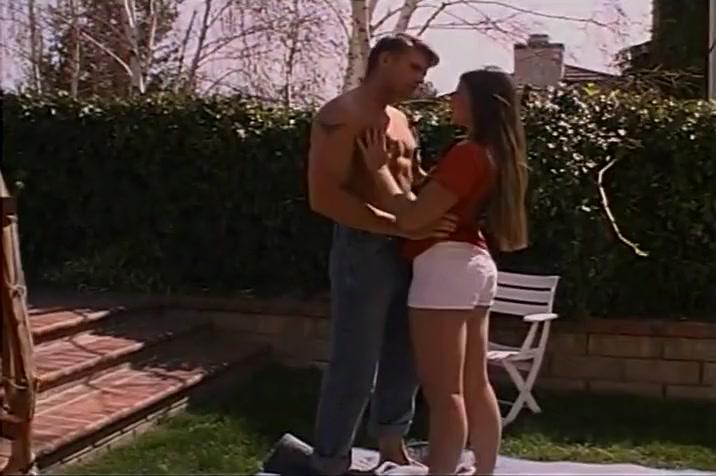 Slut Gives ATM In The Backyard